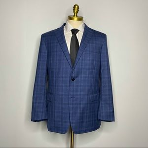 Brooks Brothers Regent Fit Blazer 100% Wool Check